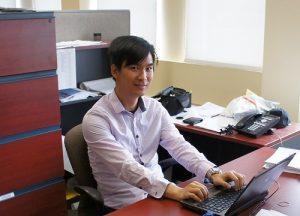 Yip Lam, ingénieur junior