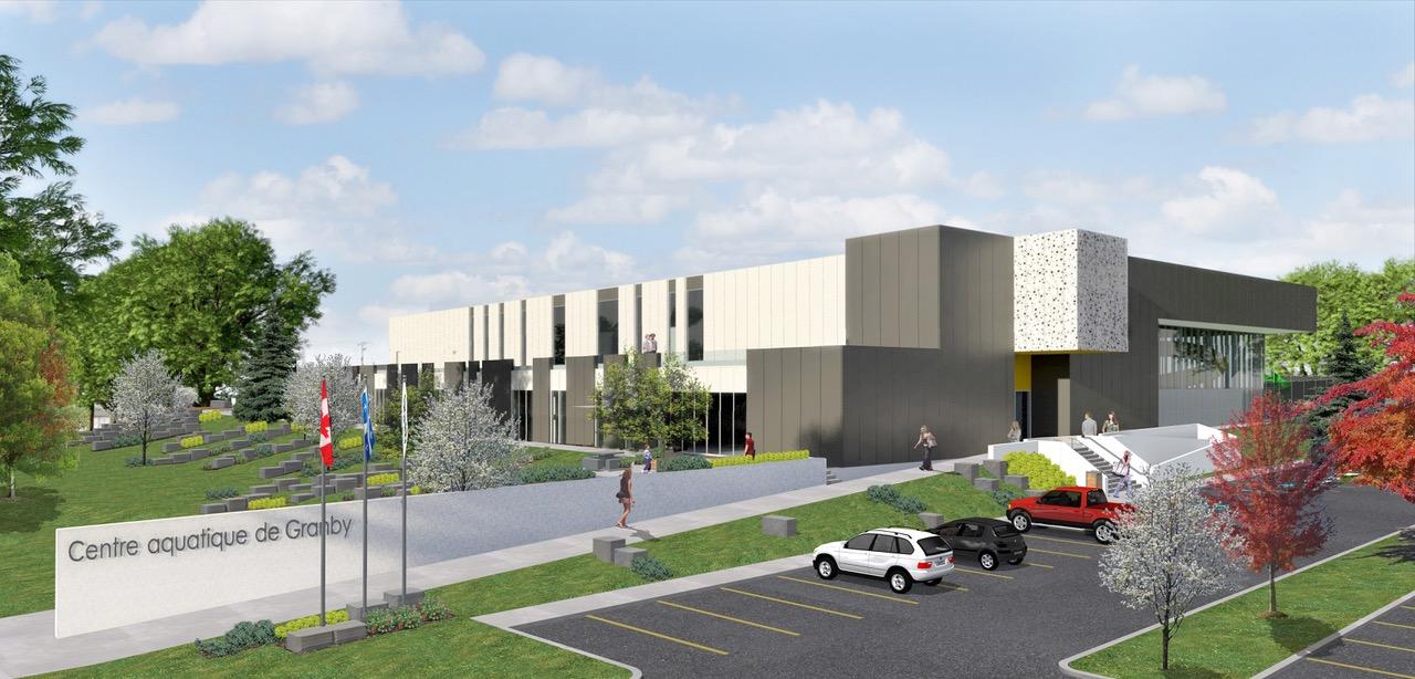 futur centre aquatique de Granby ingénieur municipal