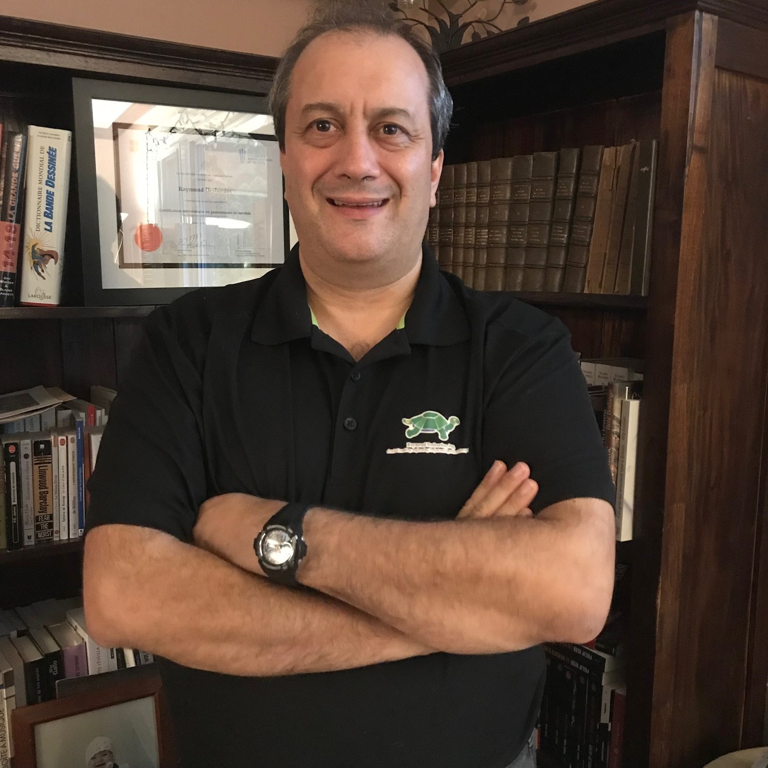 Raymond Desbordes, consultant en ingénierie et gestion de production