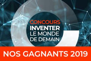 Les gagnants du concours Inventer le monde de demain 2019