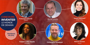 6 experts en innovation et une mission commune : inventer le mo…