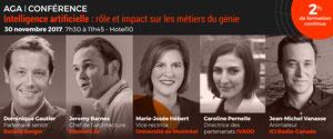 Conférence: Rôle et impact de l'intelligence artificielle sur...