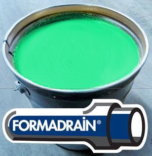 Formadrain : résine durapox