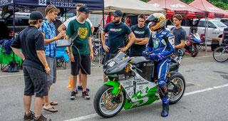 Projet EMUS, une moto électrique de compétition